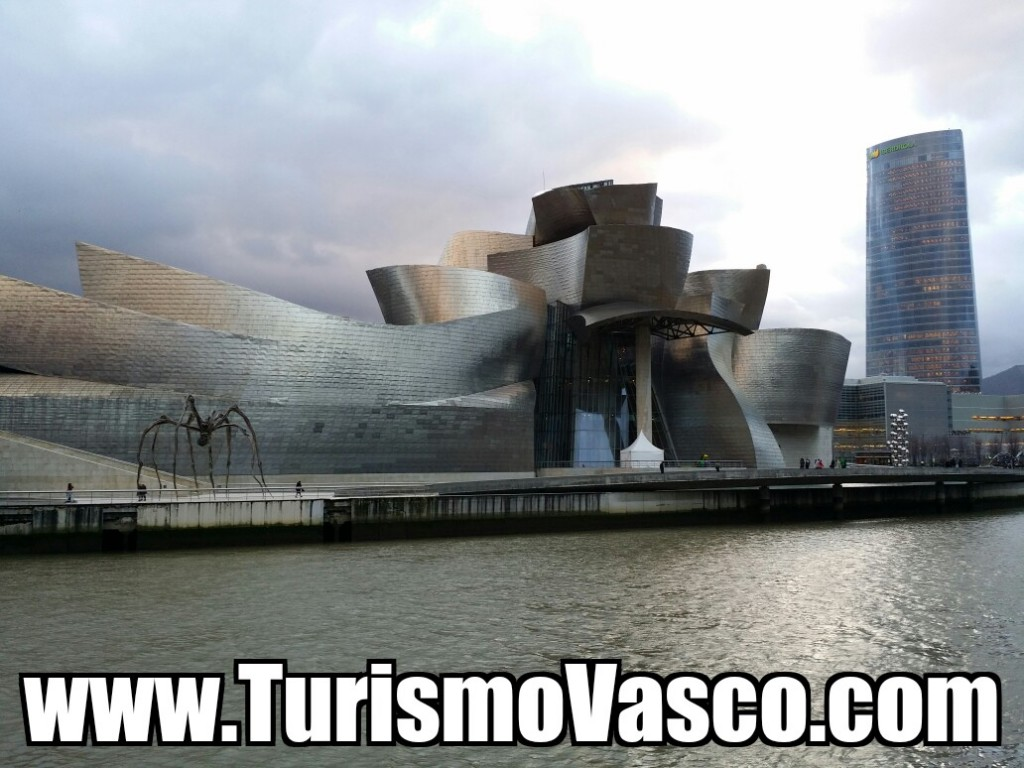 Guggenheim Bilbao y torre Iberdrola
