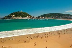 playa de la concha que ver en san sebastian