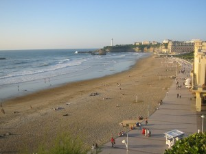 Playa de biarritz