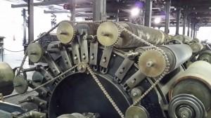 Una de las maquinas del museo boinas La Encartada