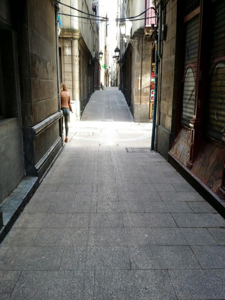 Calles del casco viejo de Bilbao