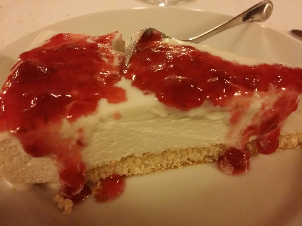 Restaurante Saibigain, tarta de queso