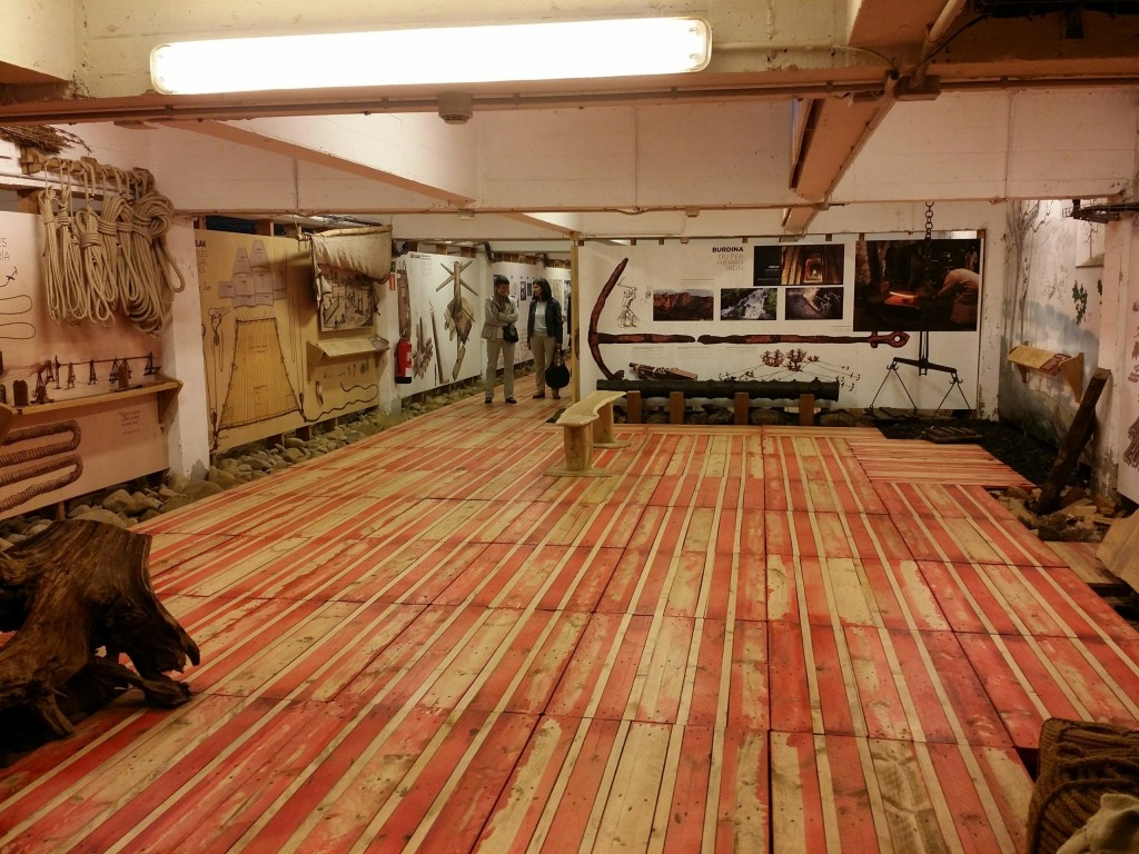 Interior expo Albaola
