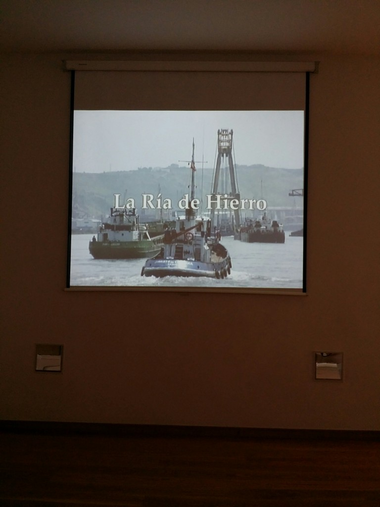 Audiovisual la Ría de hierro del Museo de la Industria Rialia