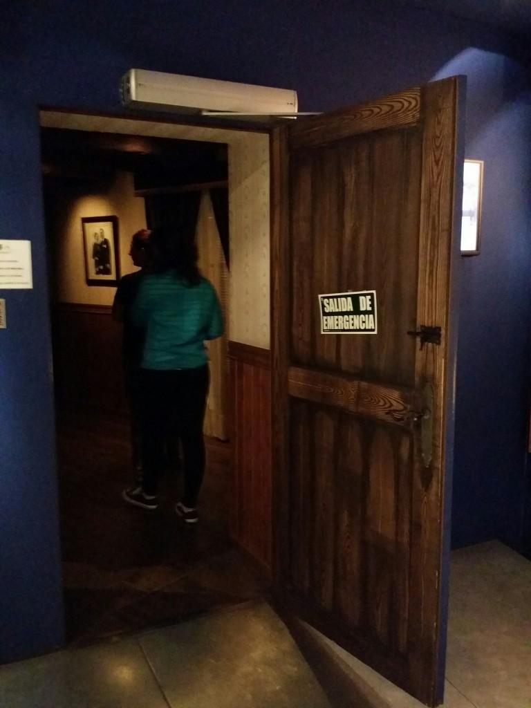 Entrada a la casa de Begoña en el Museo de la Paz de Gernika