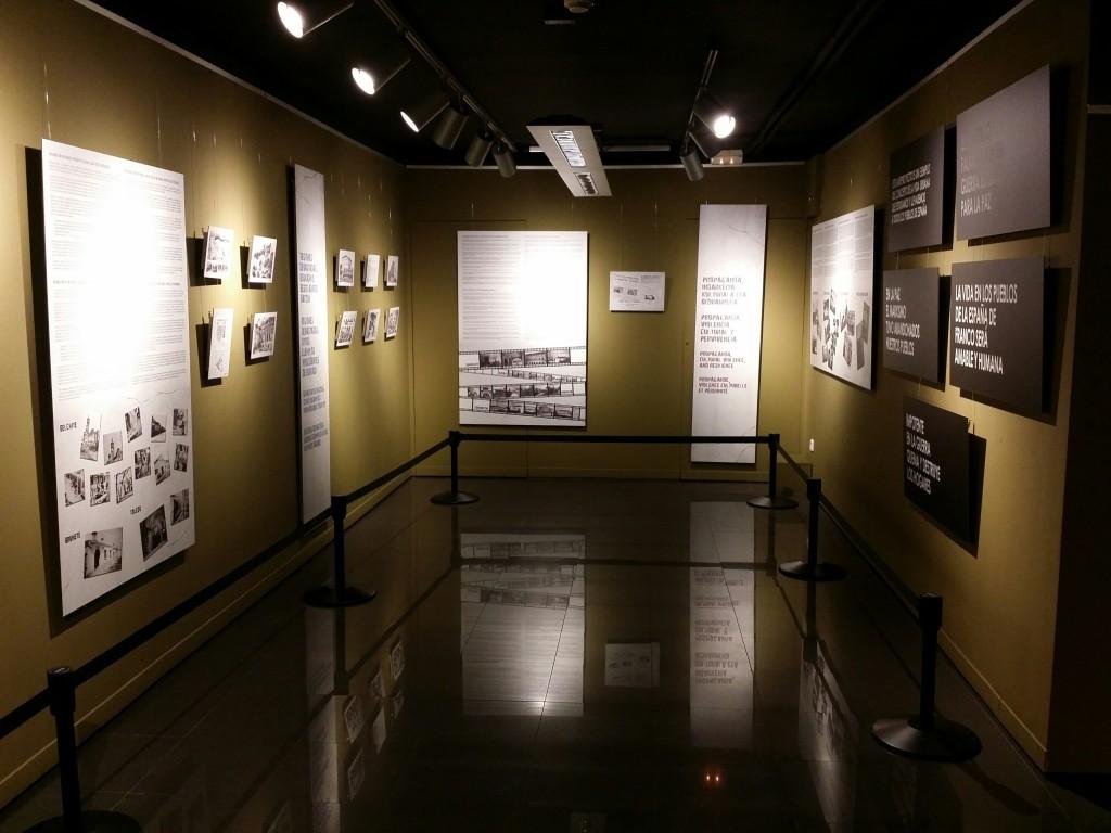 Exposición temporal del Museo de la Paz de Gernika