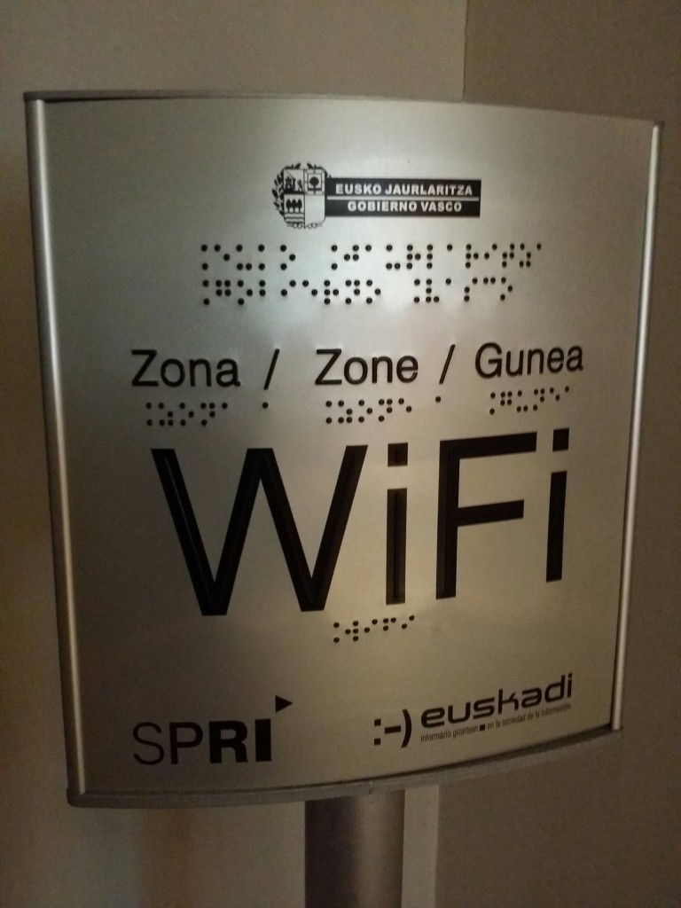Wifi gratuito en el Museo de la Paz de Gernika
