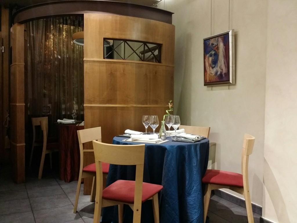 Comedor del Restaurante Gaztelumendi-Antxon