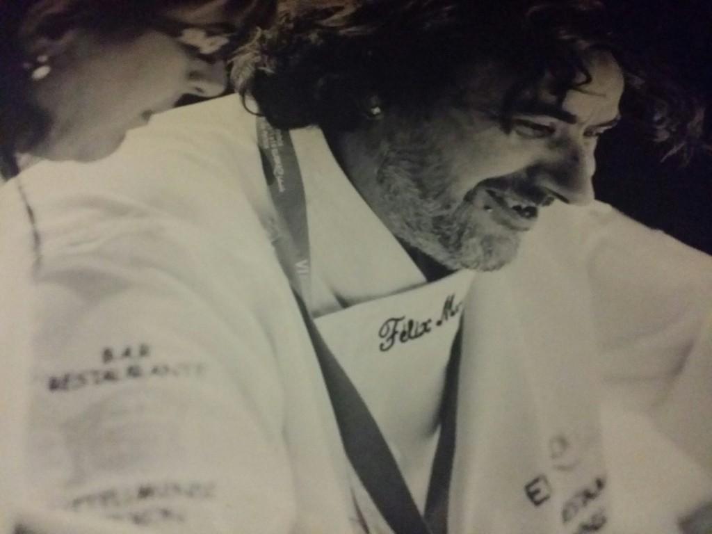 Felix, responsable del restaurante Gaztelumendi-Antxon