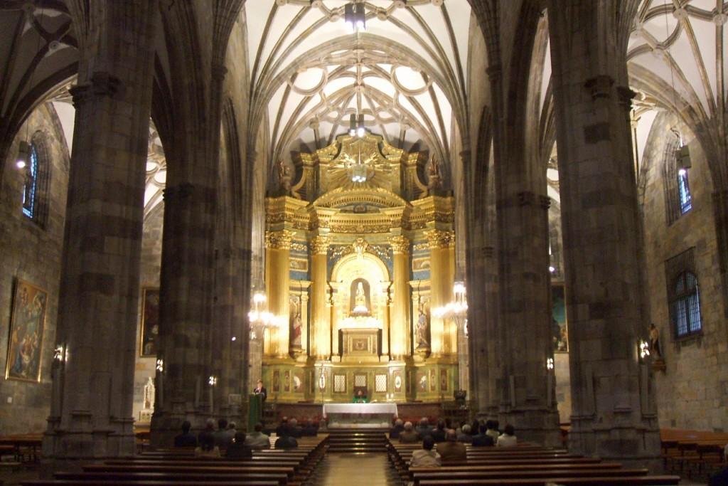 Interior Basílica de Begoña