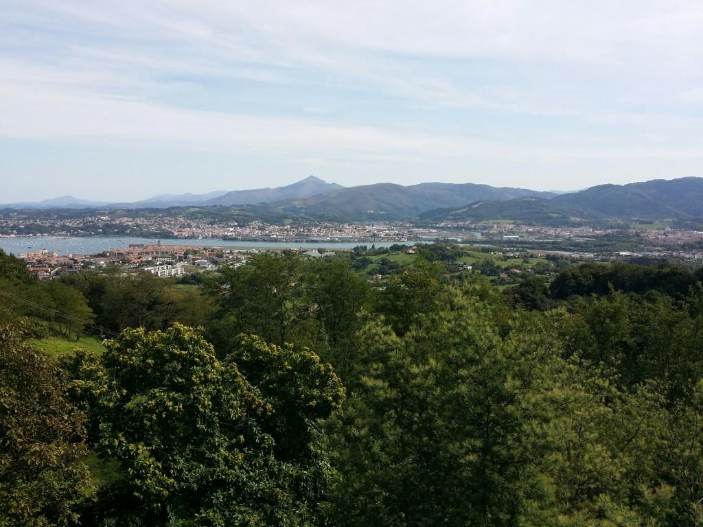 Vista desde el mirador de Jaizkibel