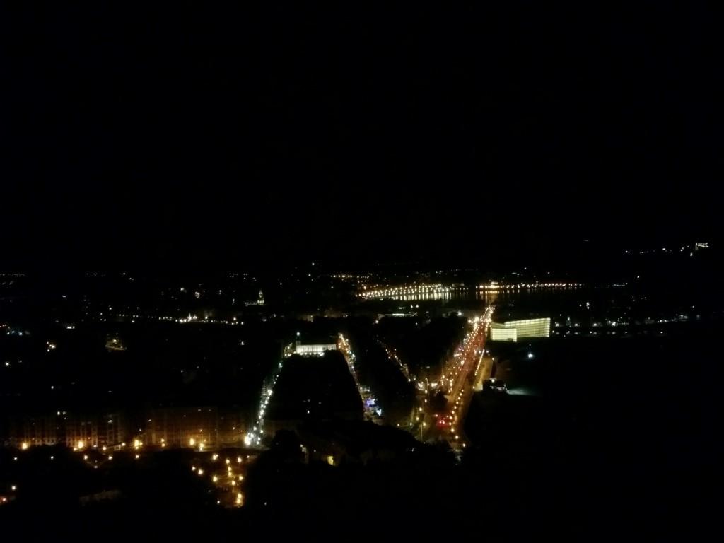 Vista nocturna Mirador de Ullia