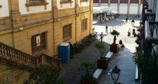 Vistas desde la ventana del Hospedaje Gurtxu