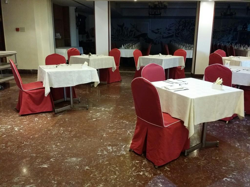 Comedor del Hotel Gurutze-Berri