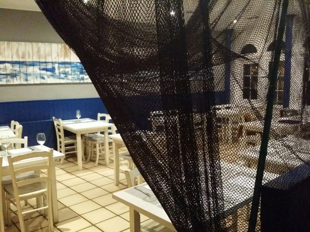 Comedor del restaurante Ziaboga
