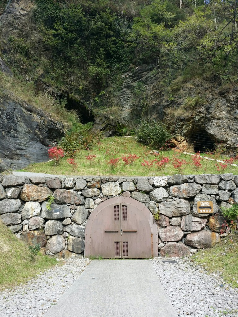 Entrada Minas de Arditurri