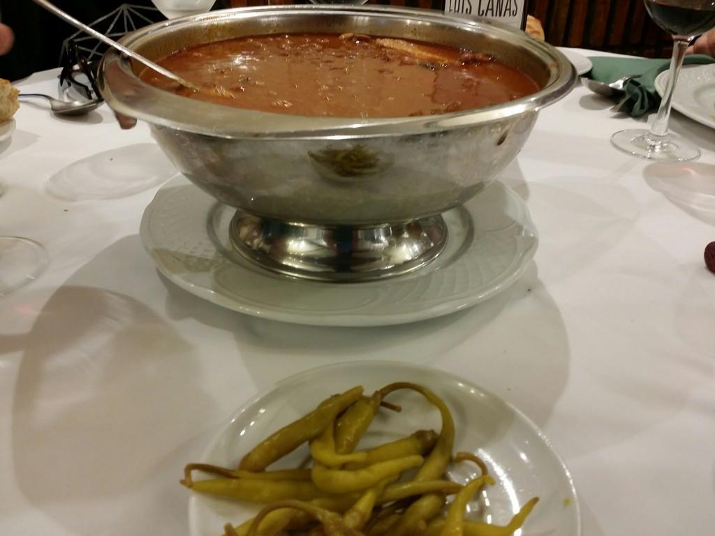 Alubias del restaurante Arrugaeta
