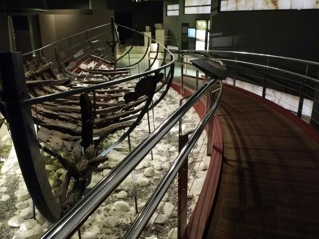 Barco del Museo de Arqueología de Bizkaia, Arkeologi Museoa