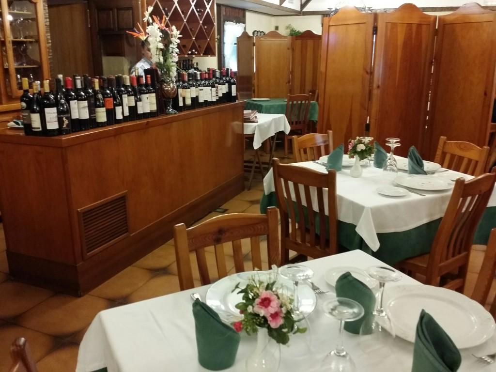 Comedor del restaurante Arrugaeta