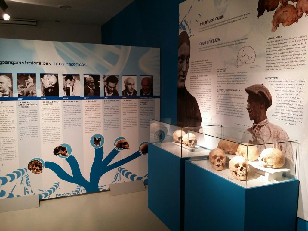 Exposición temporal de Arkeologi Museoa