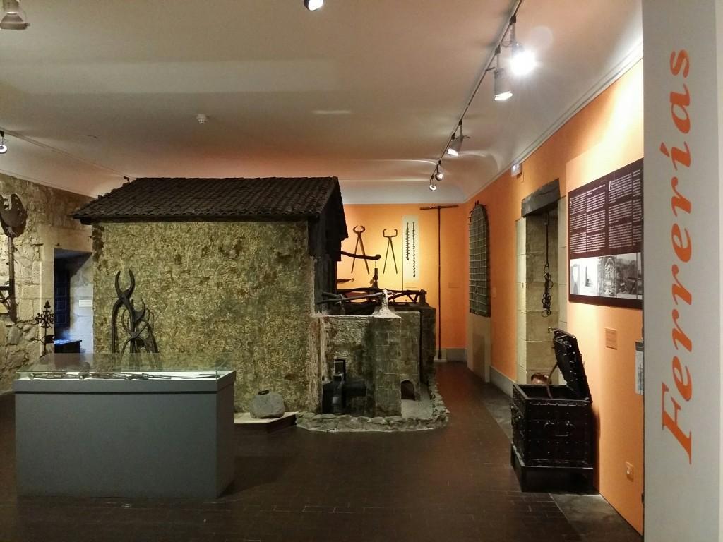 Ferrería en el Museo Vasco