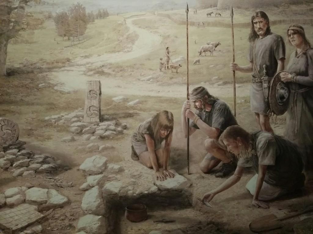 Representación del Museo de Arqueología de Bizkaia, Arkeologi Museoa