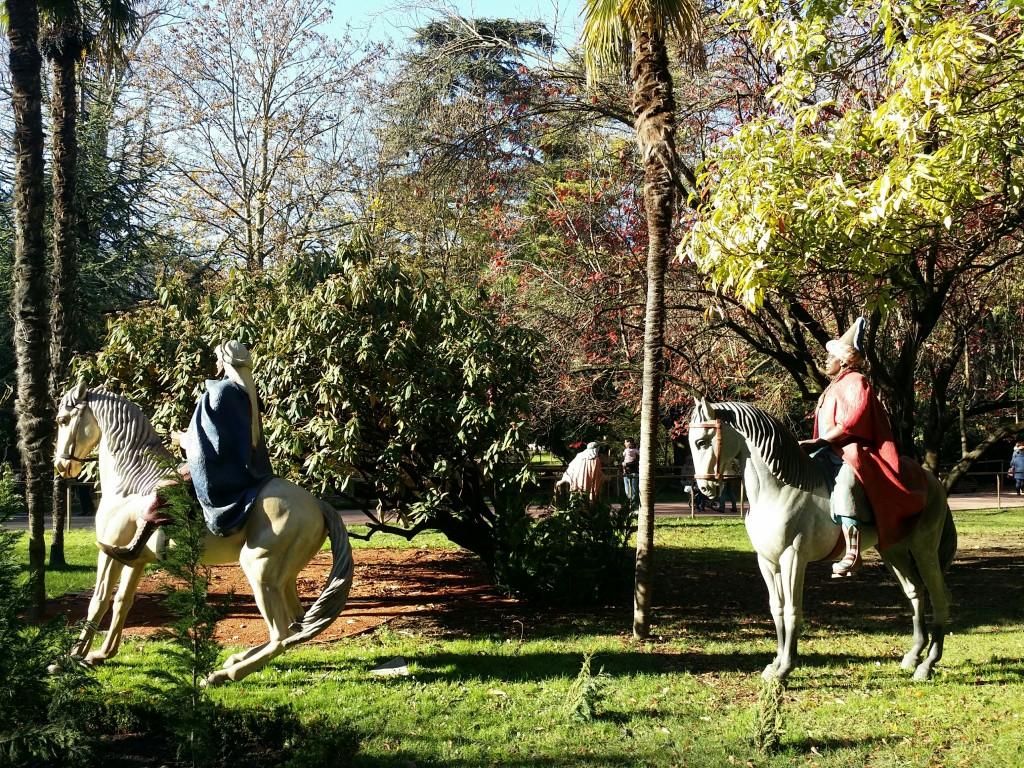 Belen en el Parque de La Florida, Vitoria-Gasteiz