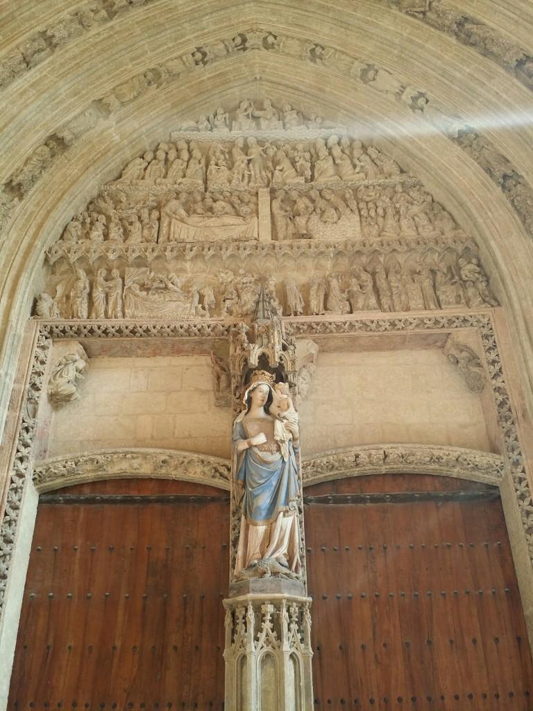 Pórtico de la Catedral de Santa Maria