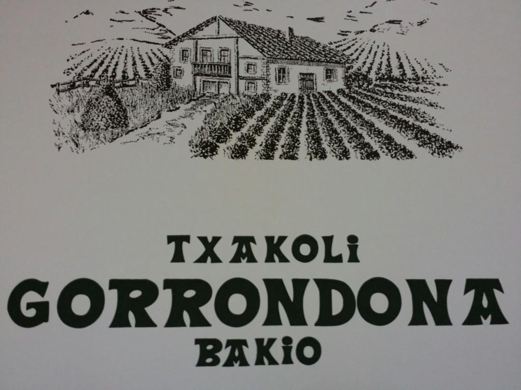 Logo Txakoli Gorrondona