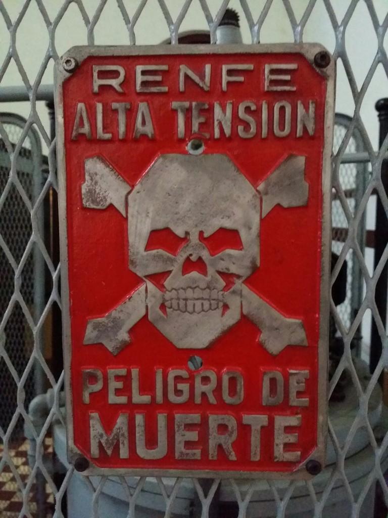 Cartel Renfe, Museo Vasco del Ferrocarril