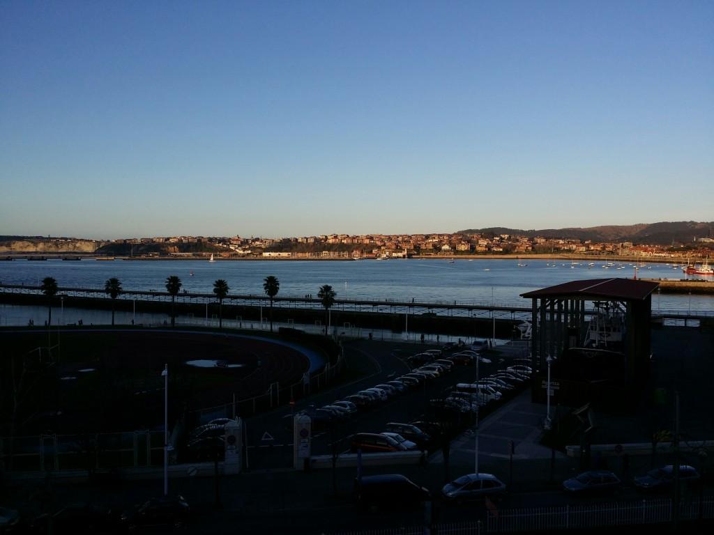 Vistas desde el Hotel Palacio de oriol