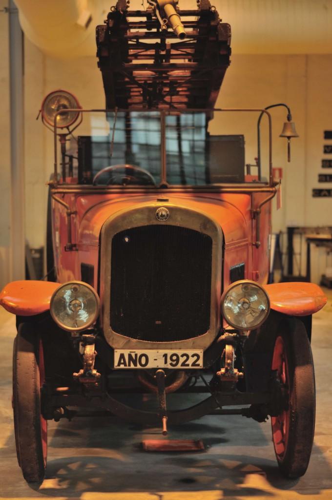 Camión Museo Vasco del Ferrocarril