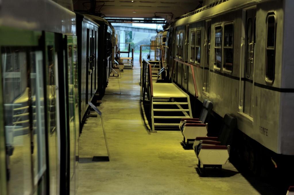 Cocheras Museo Vasco del Ferrocarril