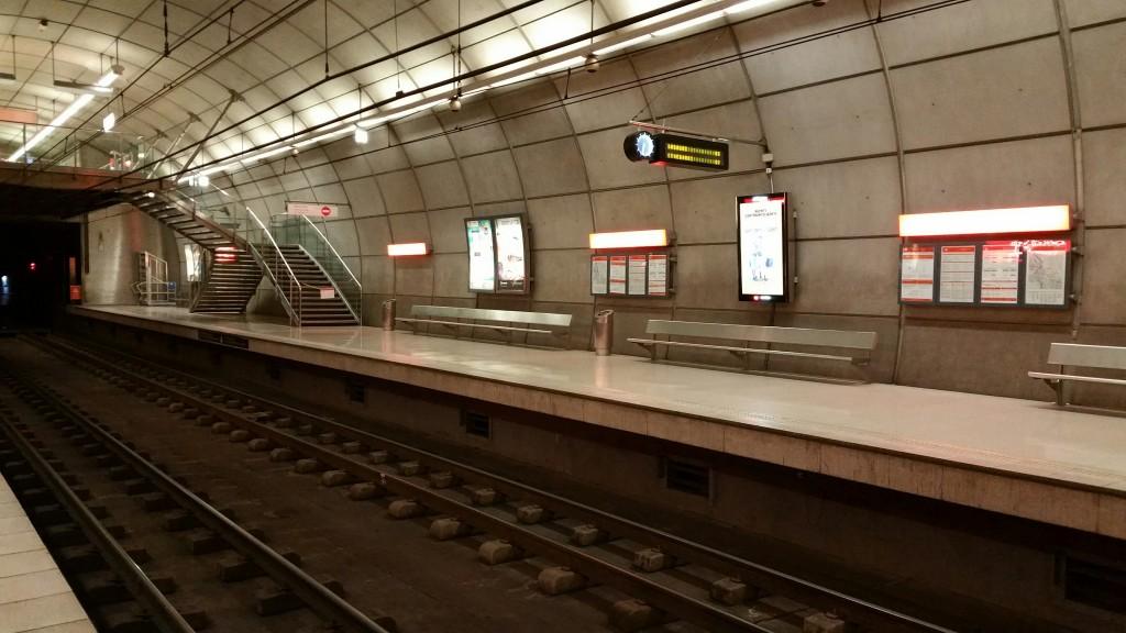 Estación Metro Bilbao
