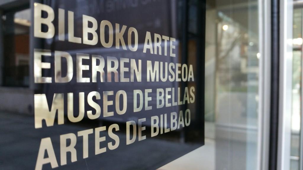 Museo de Bellas Artes de Bilbao, entrada