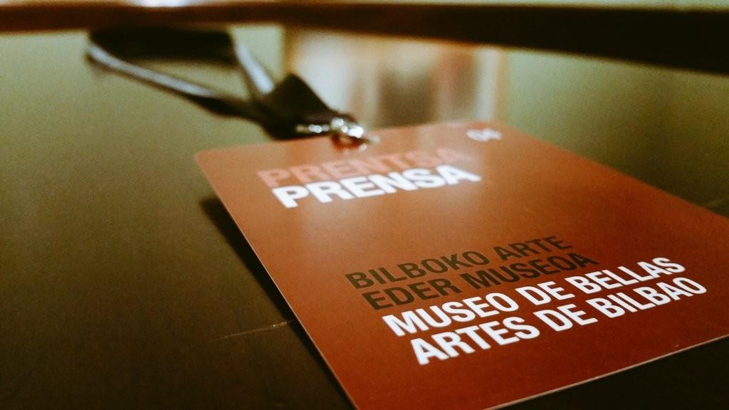Pase de prensa Museo de Bellas Artes de Bilbao