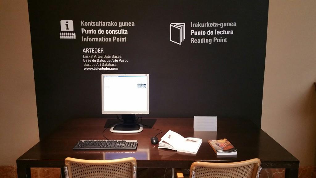 Punto de consulta, Museo de bellas artes de Bilbao