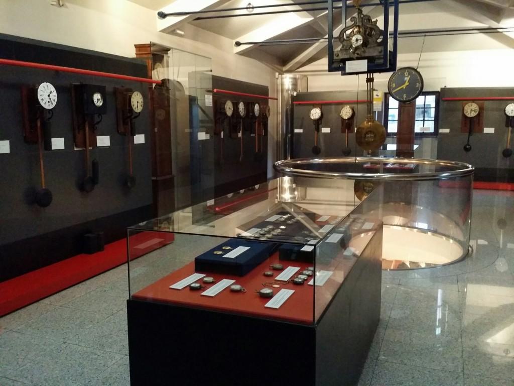 Relojes, Museo Vasco del Ferrocarril