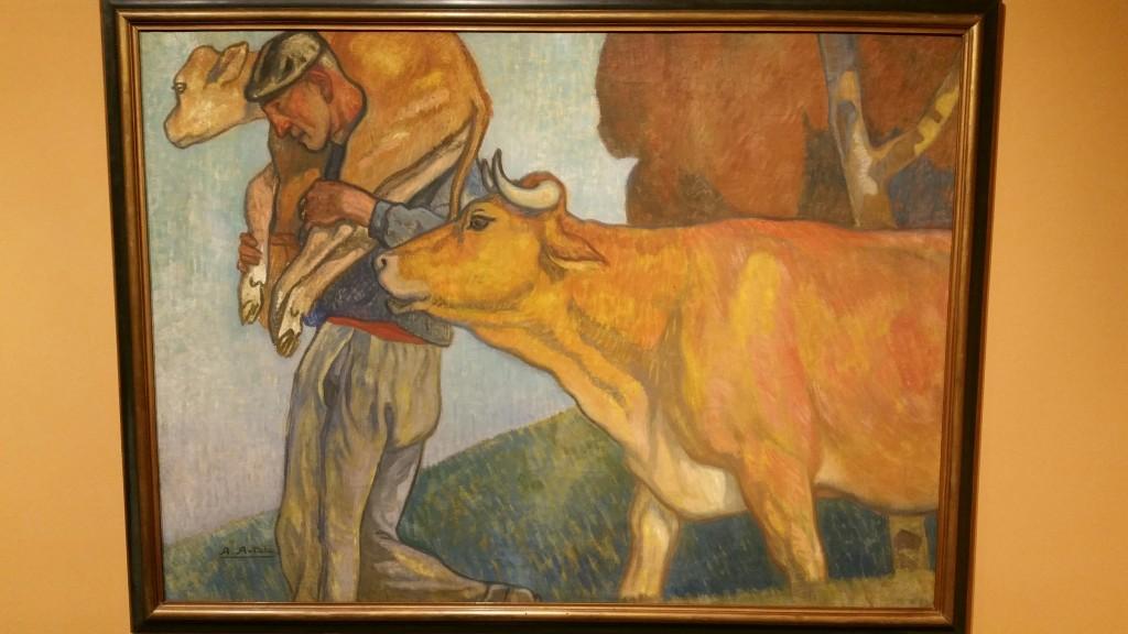 Tradiciones y forma de vida del pueblo vasco, Museo Bellas Artes