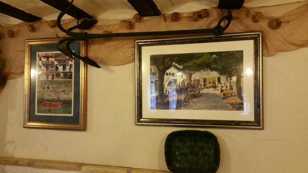 Decoración restaurante Puerto Zabala