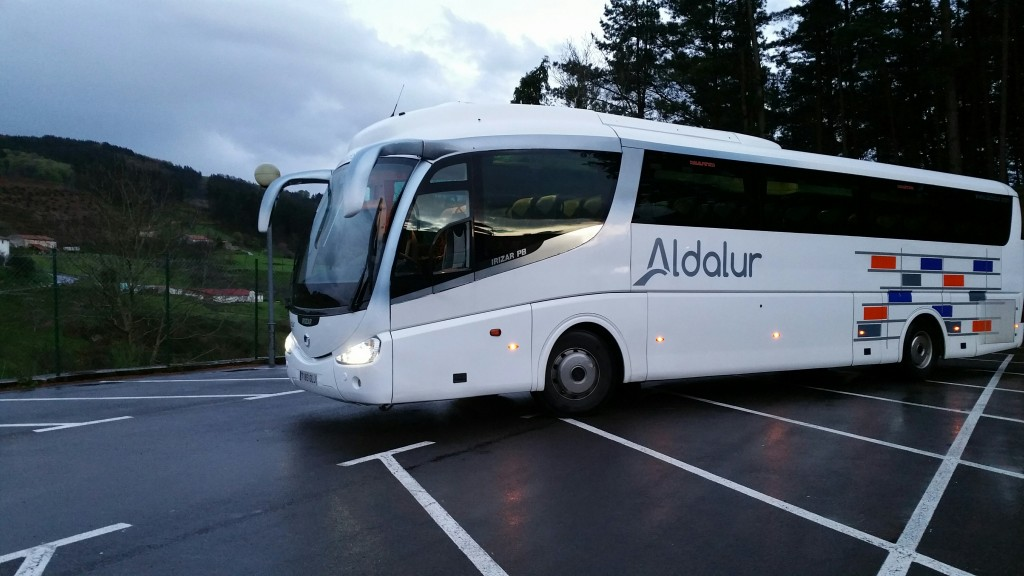 Autobus Añota Sagardotegia