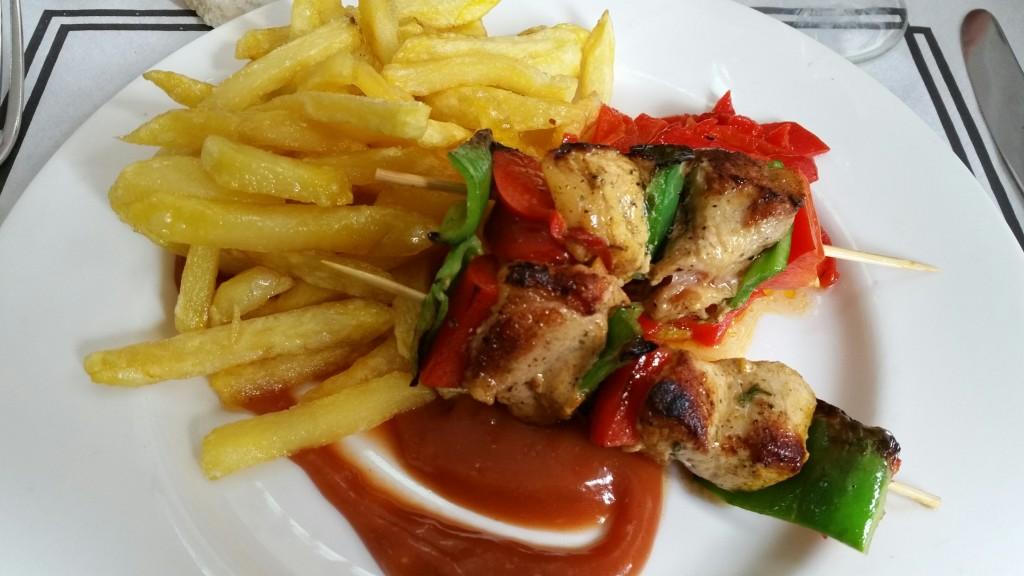 Brochetas Restaurante Laia