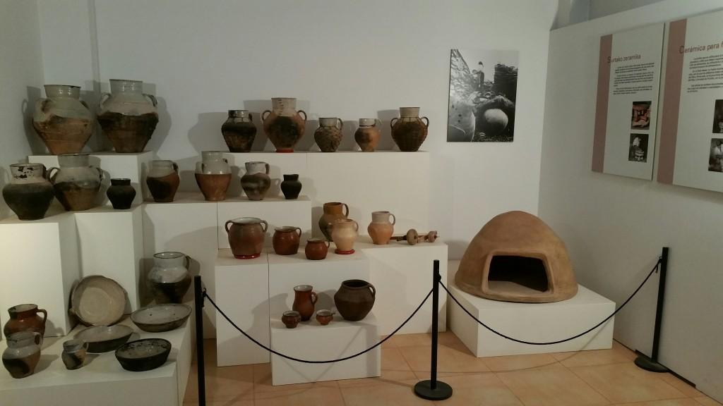 Colección permanente Museo Alfarería Vasca