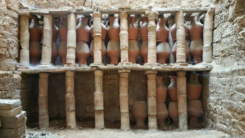 Interior del Horno tradicional de Ollerías