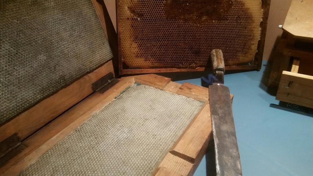 Panel, Museo de la miel Murgia