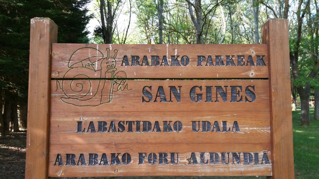 Parque San Gines, Labastida
