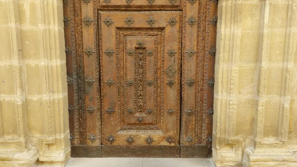 Puerta ayuntamiento Lanciego