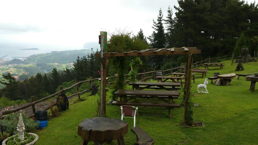 Terraza restaurante Cannon