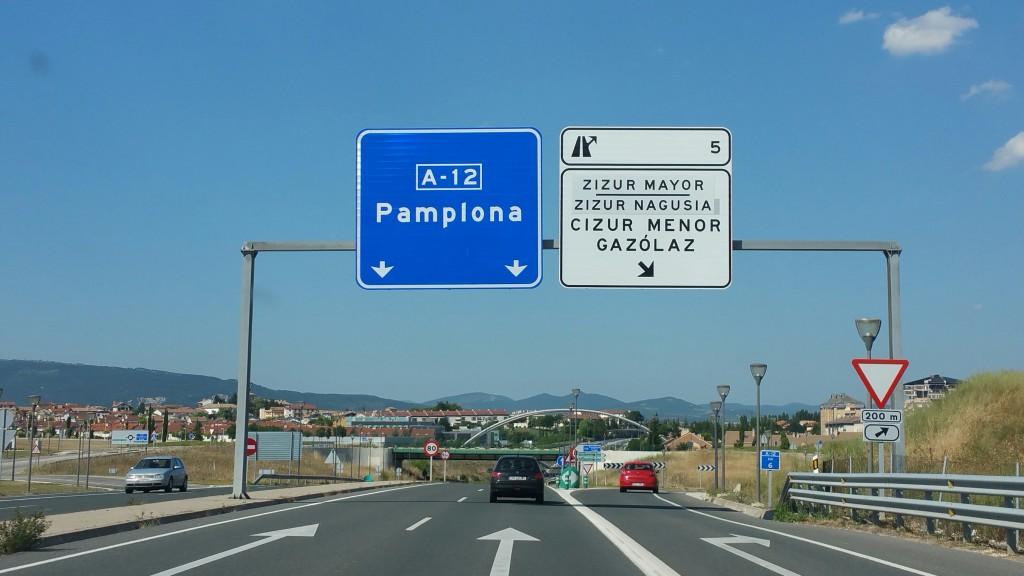 Autopista Pamplona Iruña