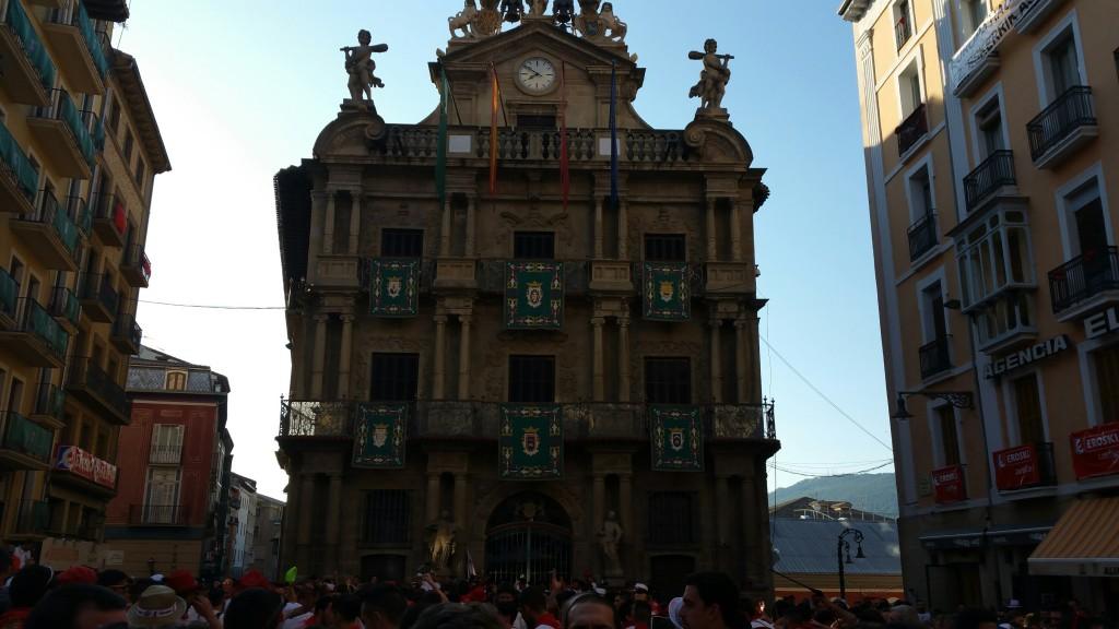 Ayuntamiento en San Fermín